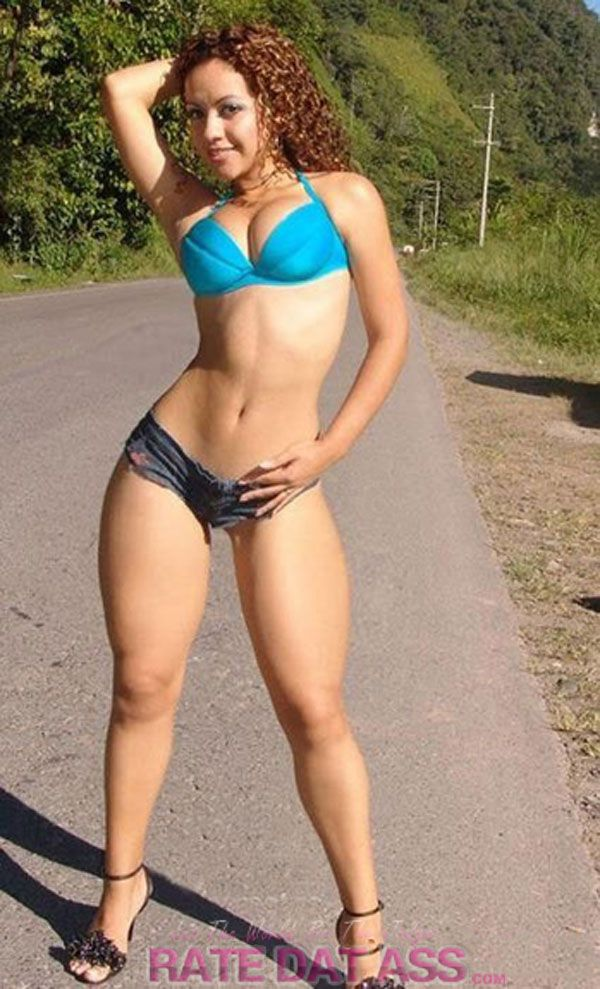 hot fit nude woman